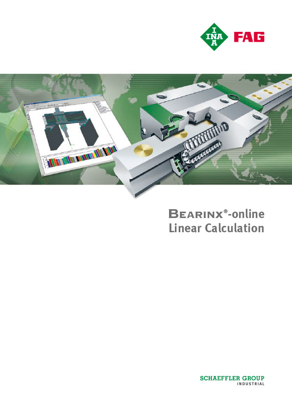 Bearinx®-online Linear Calculation
