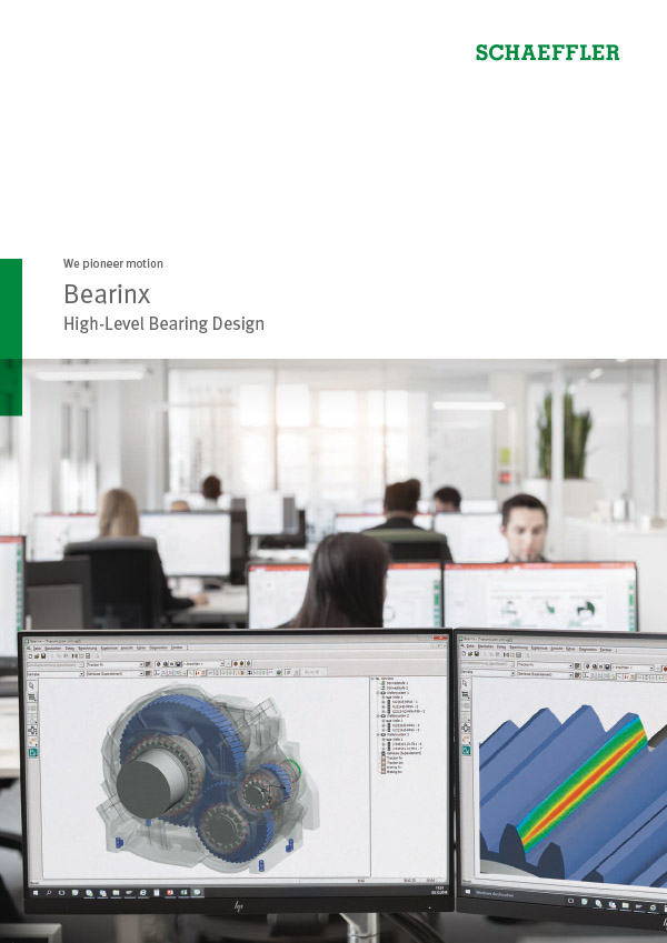 Bearinx® High-Level Bearing Design
