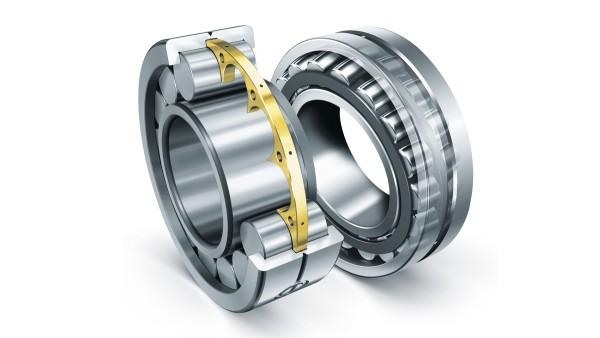 シェフラーの円筒ころ軸受と自動調心ころ軸受は、建設機械の過酷な要件にも適合します。