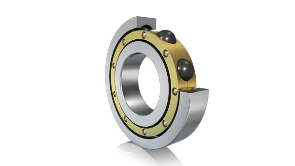 Current-insulating hybrid bearing
