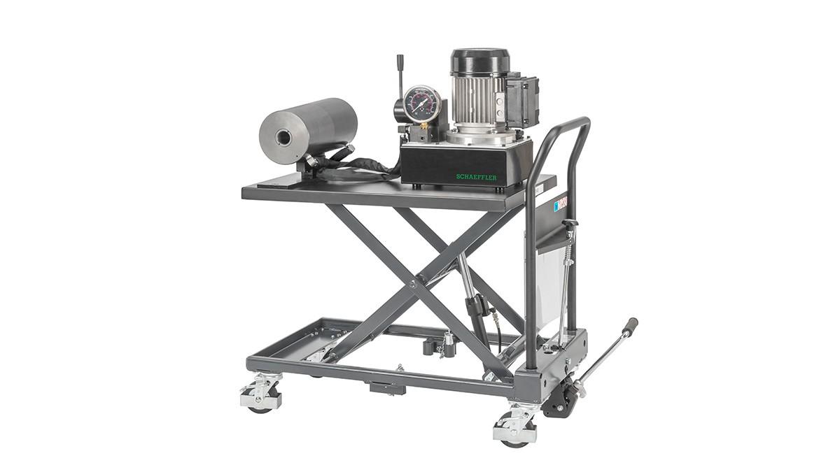 シェフラーの保守製品:移動式油圧装置