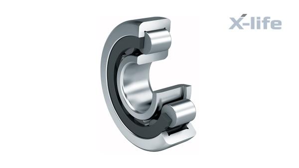 シェフラーのころがり軸受とすべり軸受:ケージ付き円筒ころ軸受