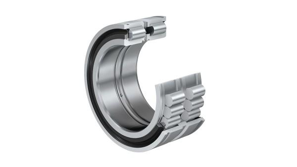 シェフラーのころがり軸受とすべり軸受:スナップリング溝付き総ころの円筒ころ軸受