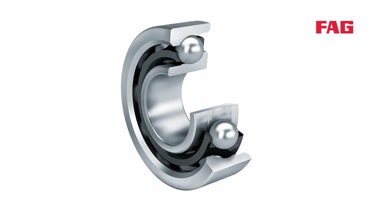 シェフラーのころがり軸受とすべり軸受:アンギュラコンタクト玉軸受