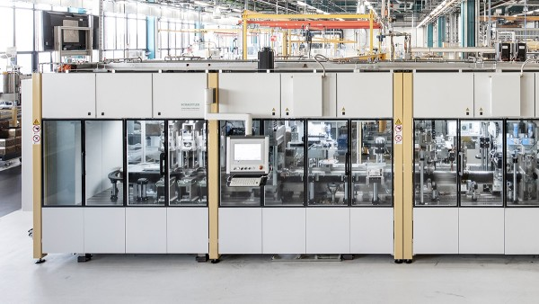 シェフラーの特殊機械の生産棟