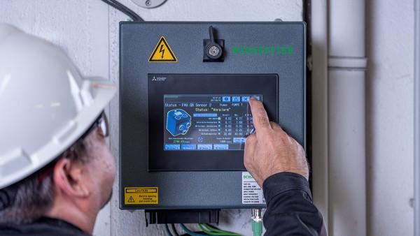 SmartQBはプラグアンドプレイシステムであるため、状態監視の予備知識を必要としません。